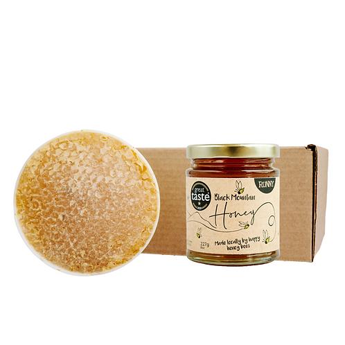 Raw Honeycomb Section Honey Gift Box
