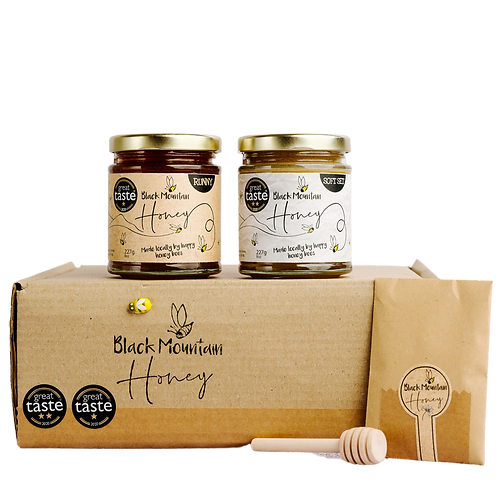 Great Taste Award Winning Honey Gift Box - 2 Jars