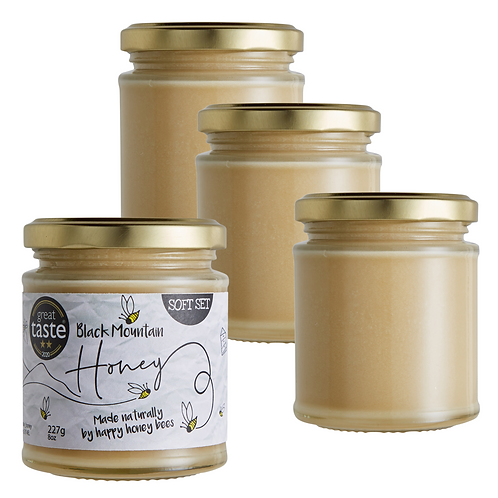 2 Star - Great Taste Award Winning Soft Set Honey - 4 x 227g