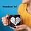 Thumbnail: Heart Monogram Customized Mug