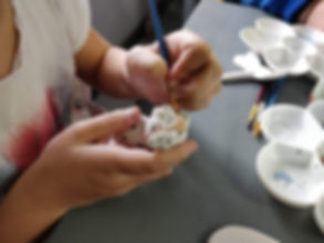 Pottery Painting Banner