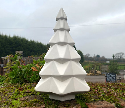 Large Faceted Christmas Tree