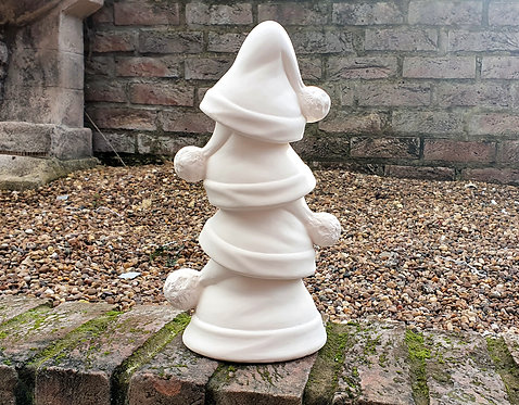Stack of Santa Hats