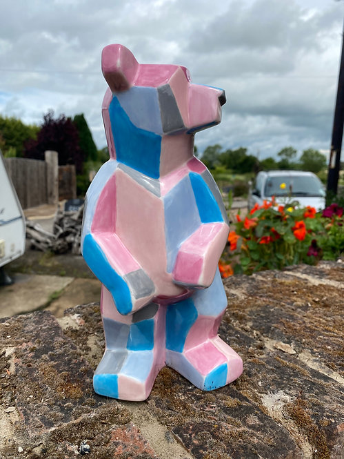 Faceted Bear - Standing