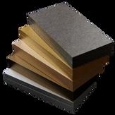 v-cut box sample