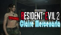 【Mod】Claire SemiDesnuda   Resident Evil 2 Remasterizado   No necesita programas externos   Mod Nude