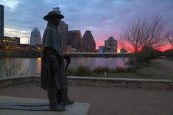 Stevie Ray Vaughn Statue