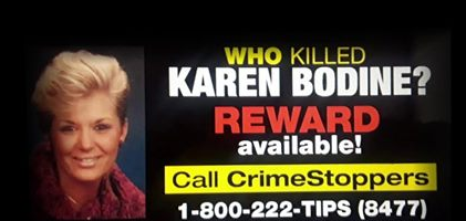 Who Killed Olympia's Karen Bodine?