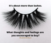 It's About More Than Eyelashes...