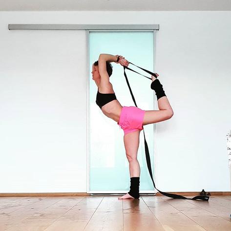 Yoga pose dancer