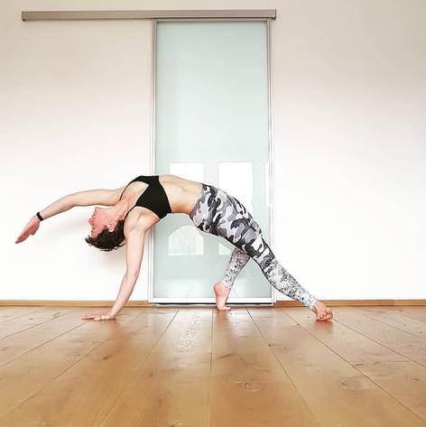 Yoga Wild thing