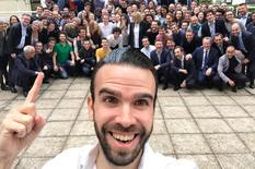 Selfie time in France, 2018