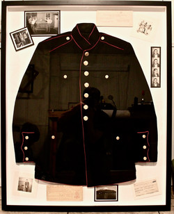 Military suit and awards
