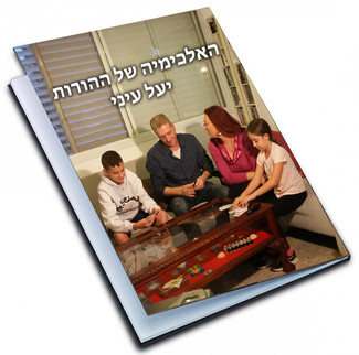 """פרוייקט מימון המונים של הספר """"האלכימיה של ההורות"""" מסתיים ב- 20.1.17. כמעט סיכום"""