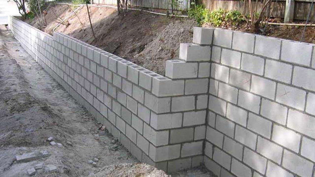 Block Wall/Retaining Wall