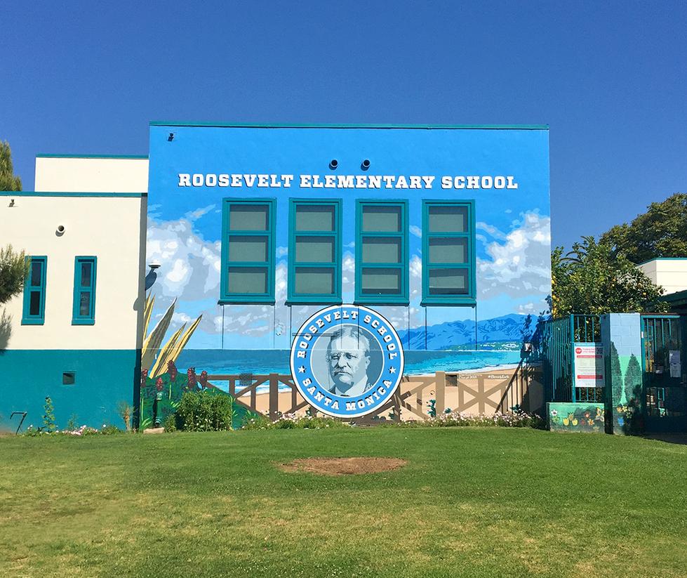 Roosevelt Elementary School Exterior