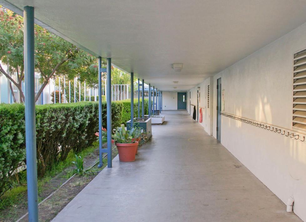 Grant Exterior Hallway