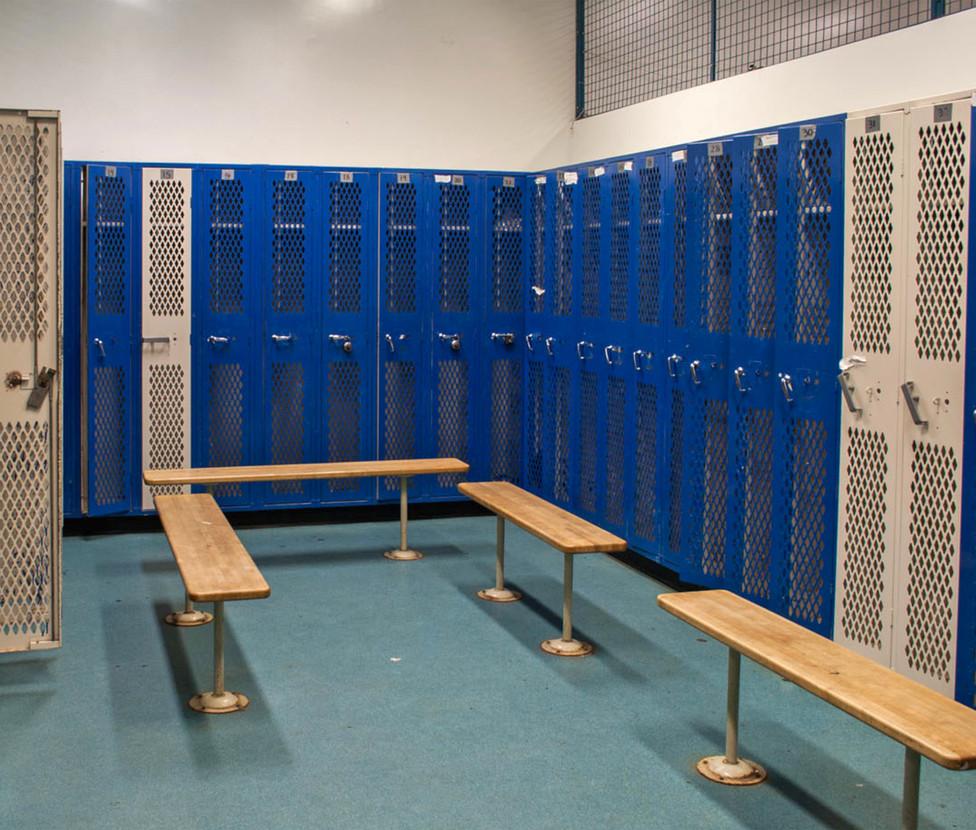 Santa Monica High School Boys' Locker Room