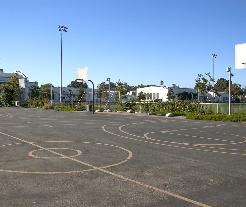 John Adams Middle School Blacktop