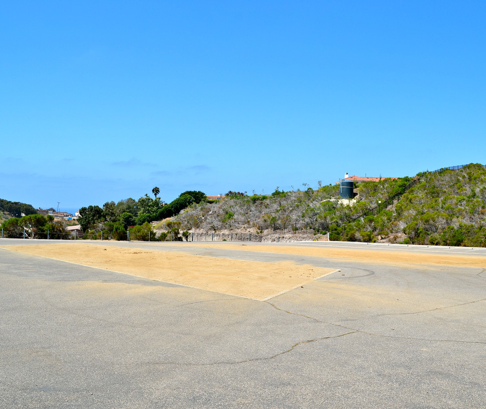 Malibu High School Equestrian Center Parking Lot