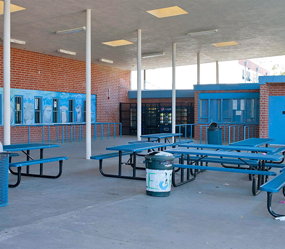 Malibu High School Outdoor Cafeteria