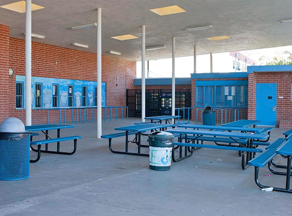 Malibu High School/Middle School Outdoor Cafeteria