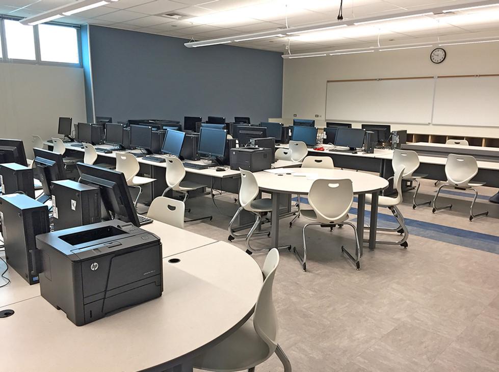 Santa Monica HS Computer Lab