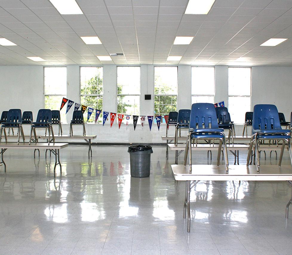 John Adams Middle School Cafeteria