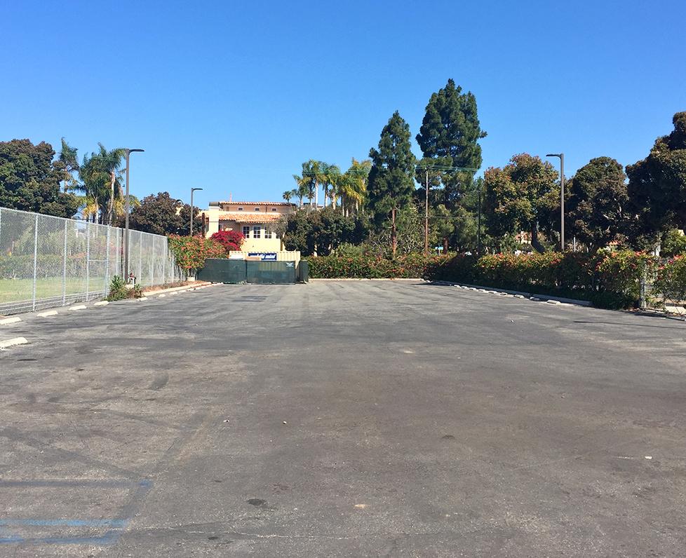Roosevelt Elementary School Parking Lot
