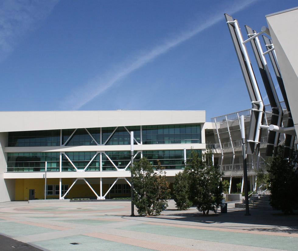 Santa Monica High School Innovation Building Entrance