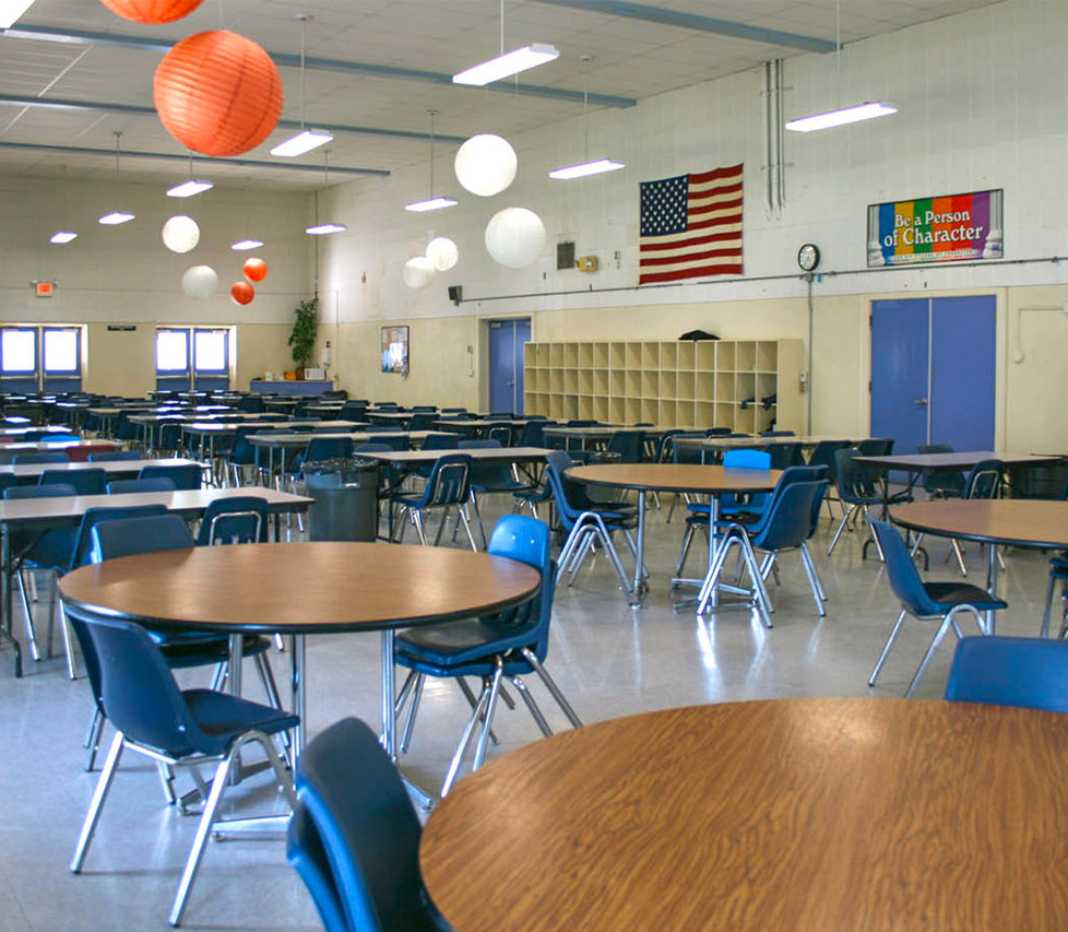 Lincoln Middle School Cafeteria