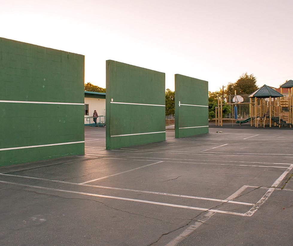 Roosevelt Elementary School Handball Courts