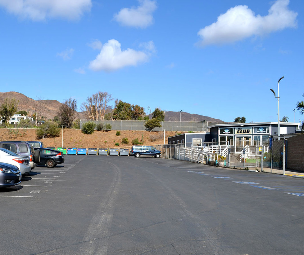 Malibu High School Student Parking Lot