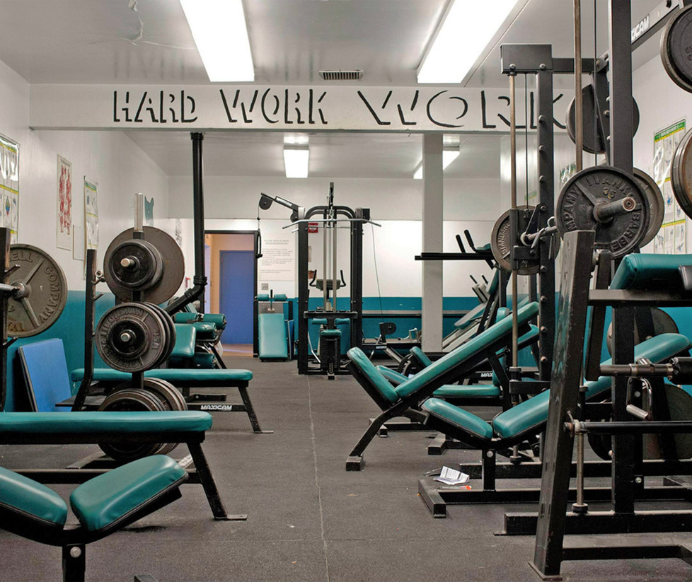 Malibu High School Weight Room