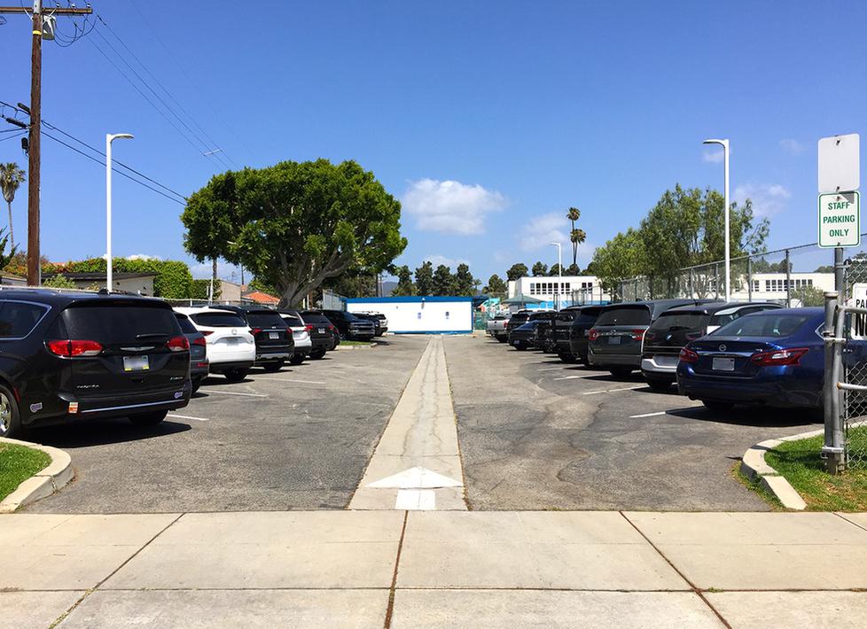 Franklin Parking Lot