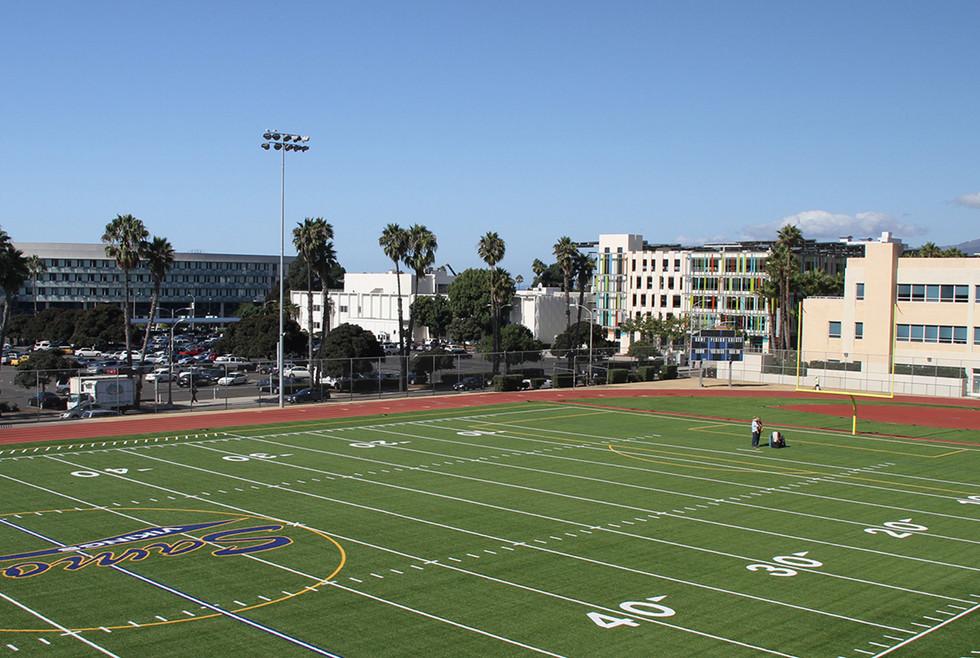 Santa Monica High School Football Field