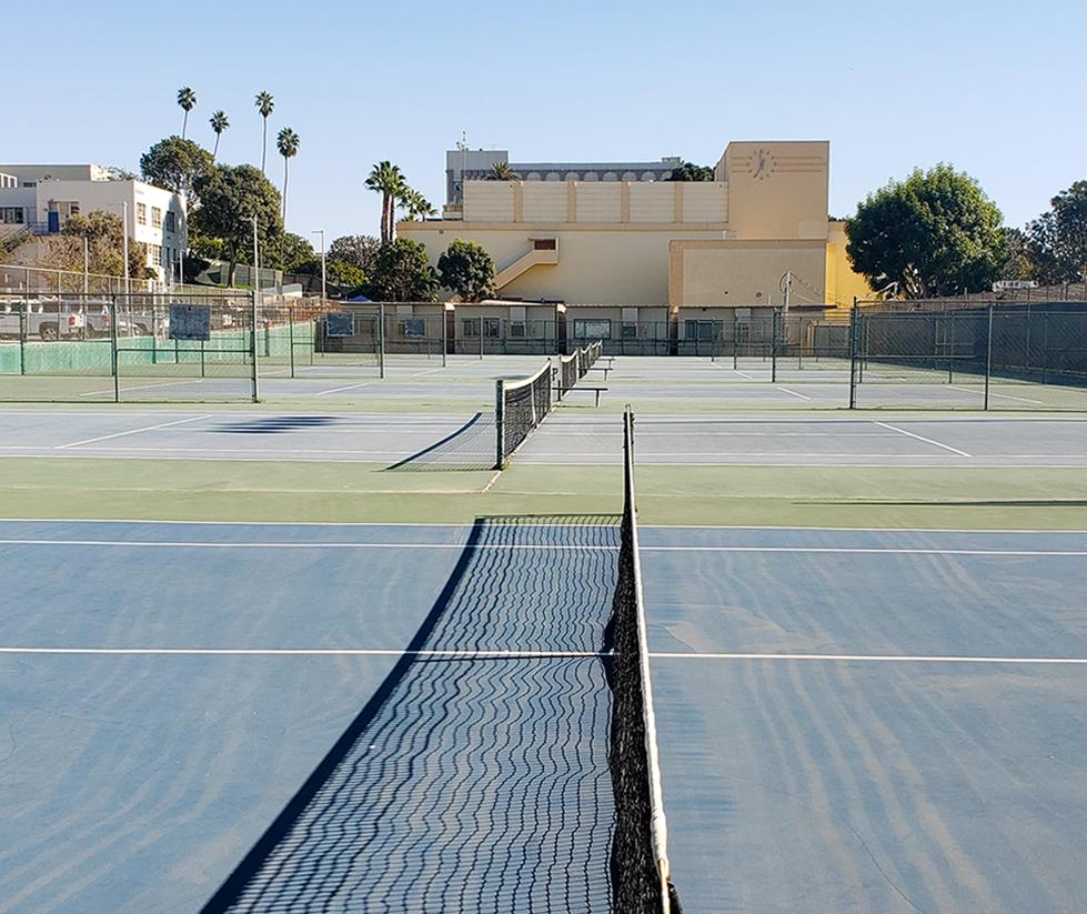 Santa Monica High School Tennis Courts