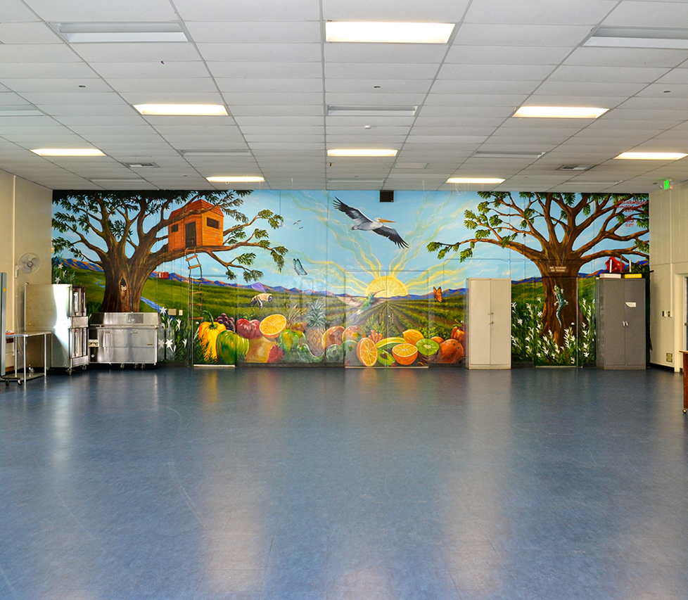Grant Elementary School Cafeteria
