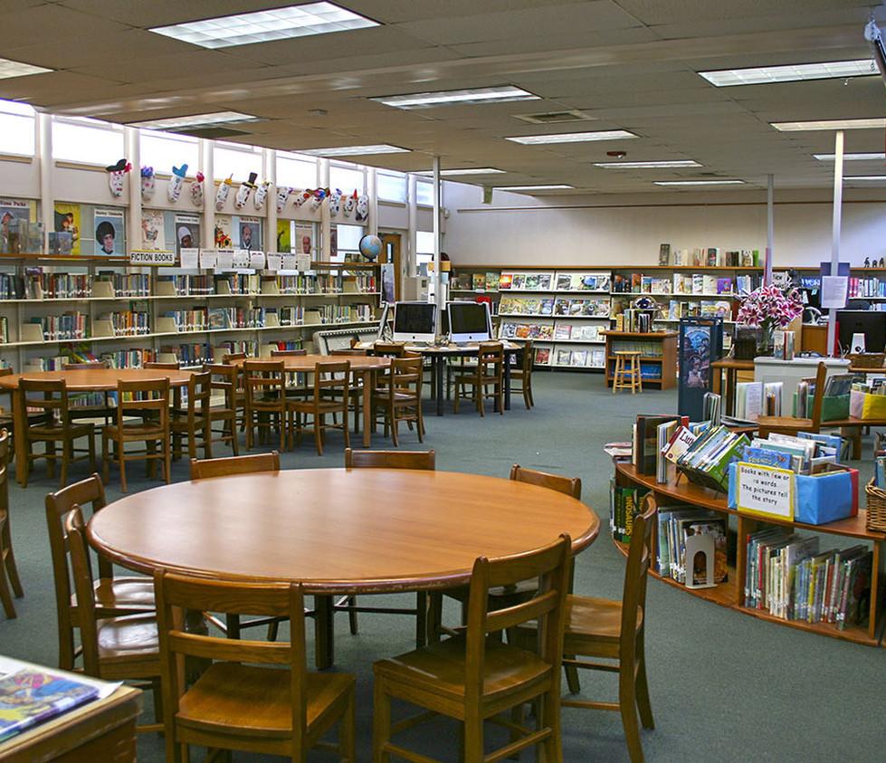 Webster Elementary School Library