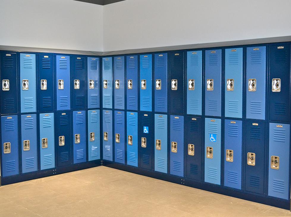 Santa Monica HS Discovery Hallway with Lockers