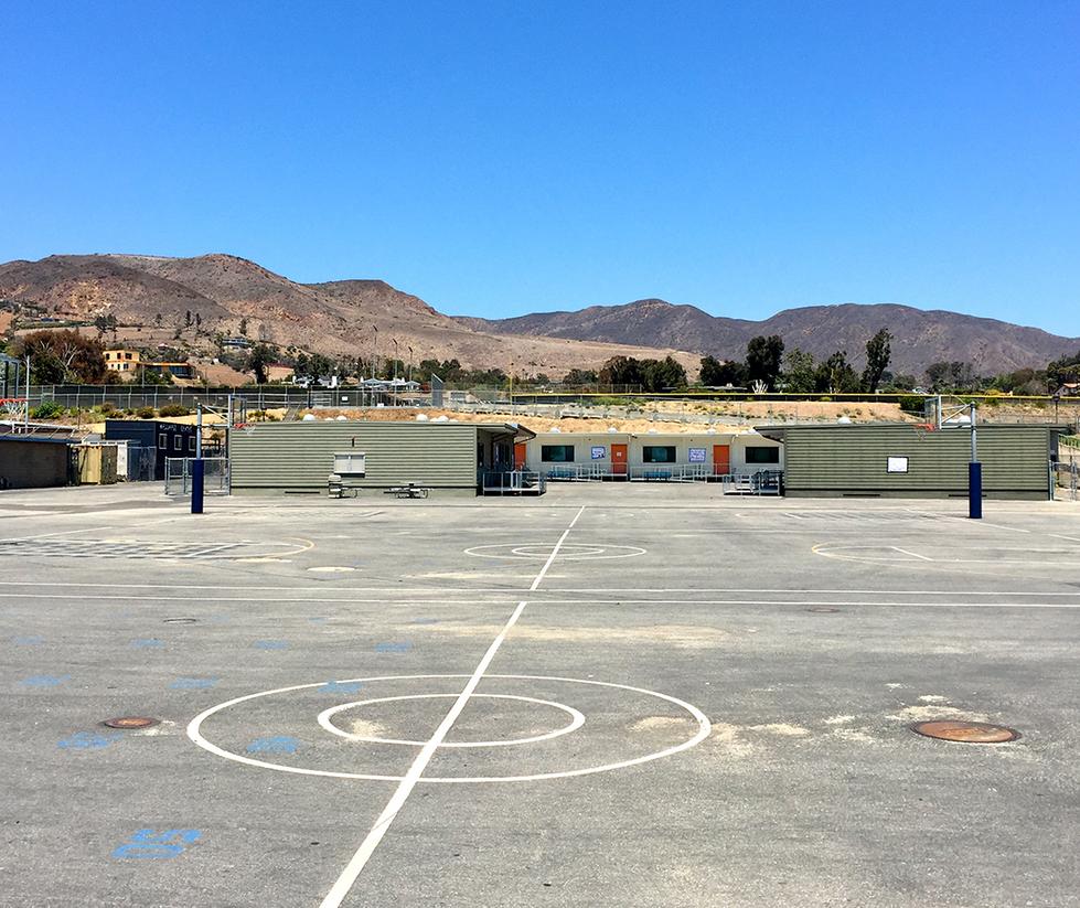 Malibu High School Basketball Courts