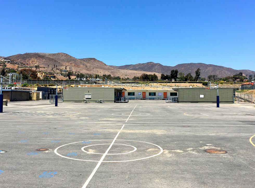 Malibu High School/Middle School Basketball Courts