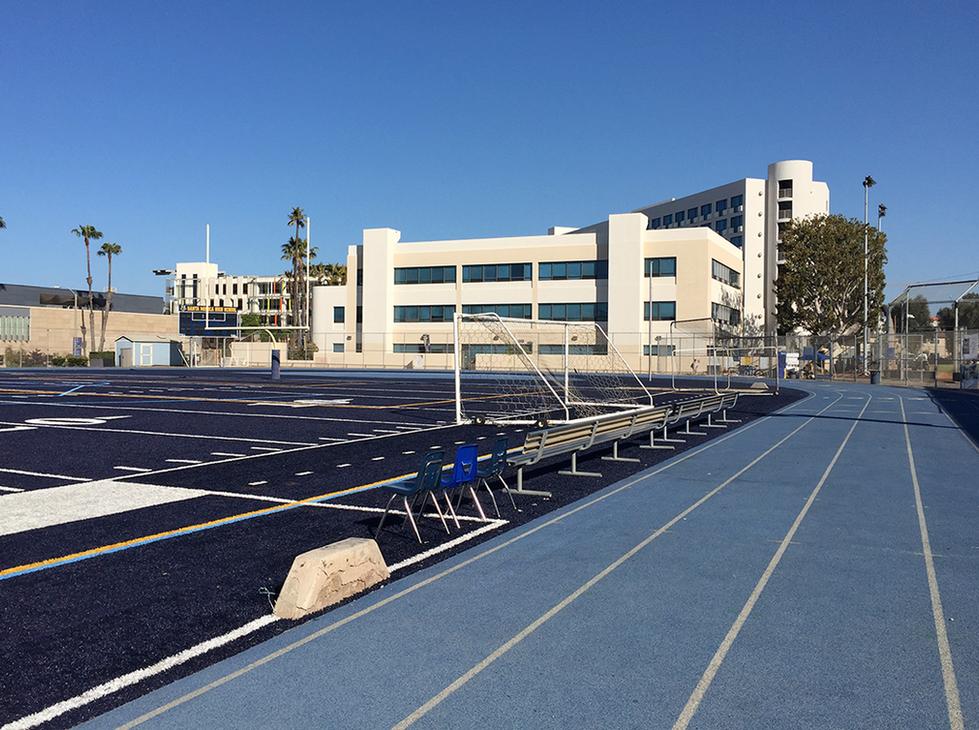 Santa Monica HS Track & Football Field