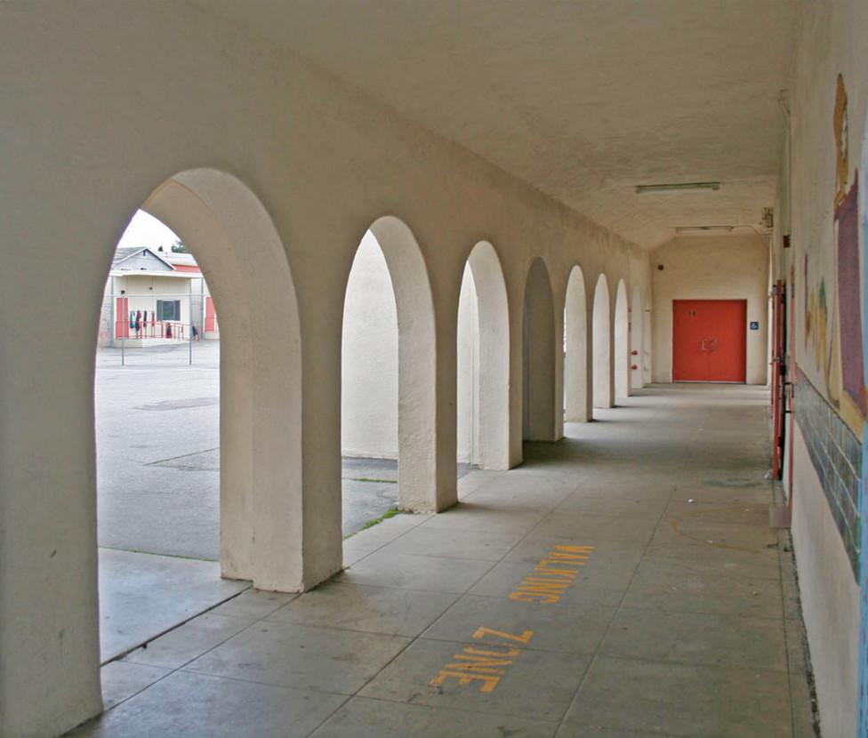 McKinley Elementary School Exterior Hallway