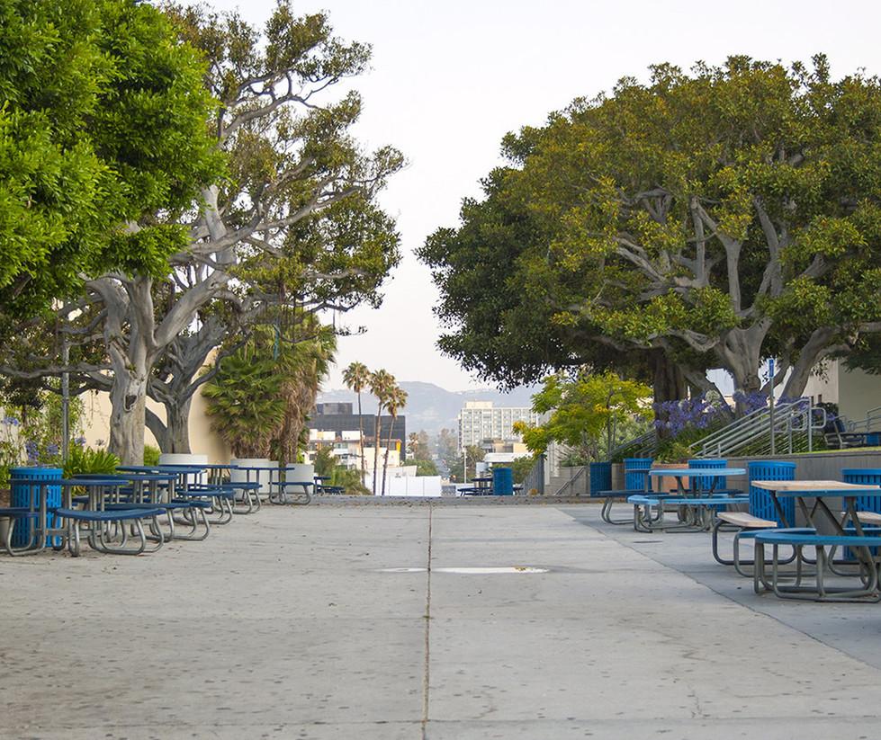 Santa Monica High School Main Quad