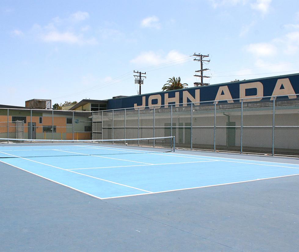 John Adams Middle School Tennis Court