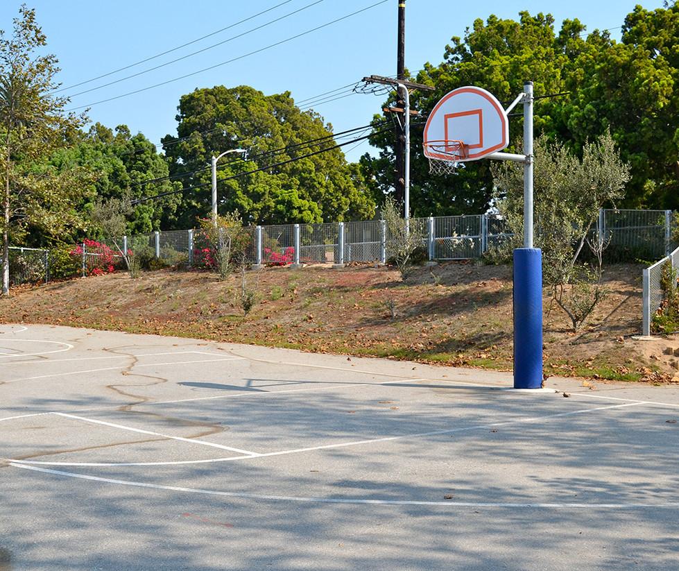 Edison Language Academy Basketball Court