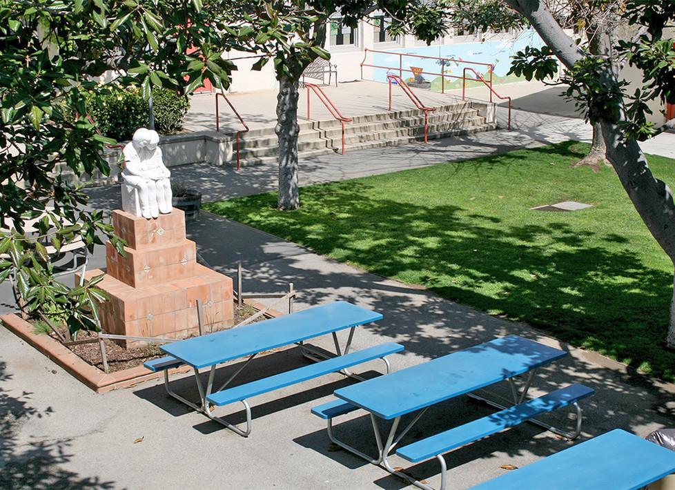 McKinley Courtyard/Quad