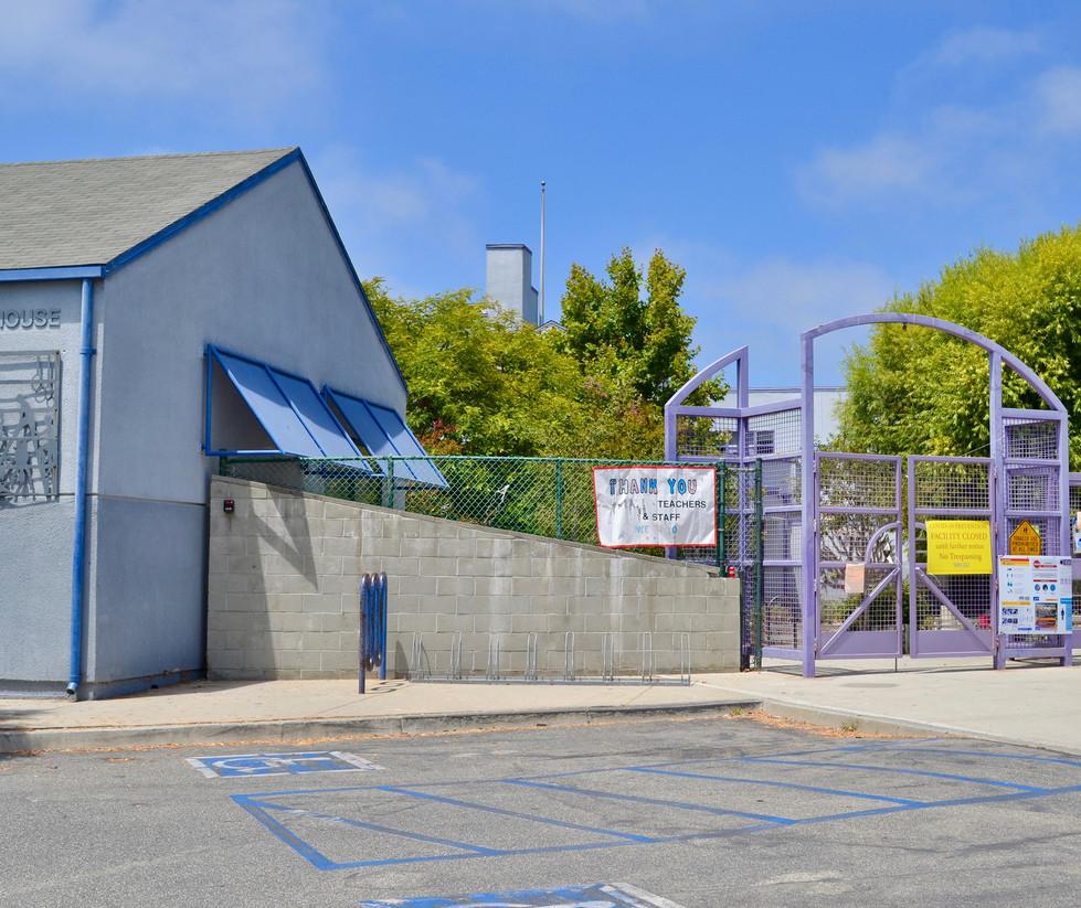 Muir/SMASH Elementary School Entrance Gate