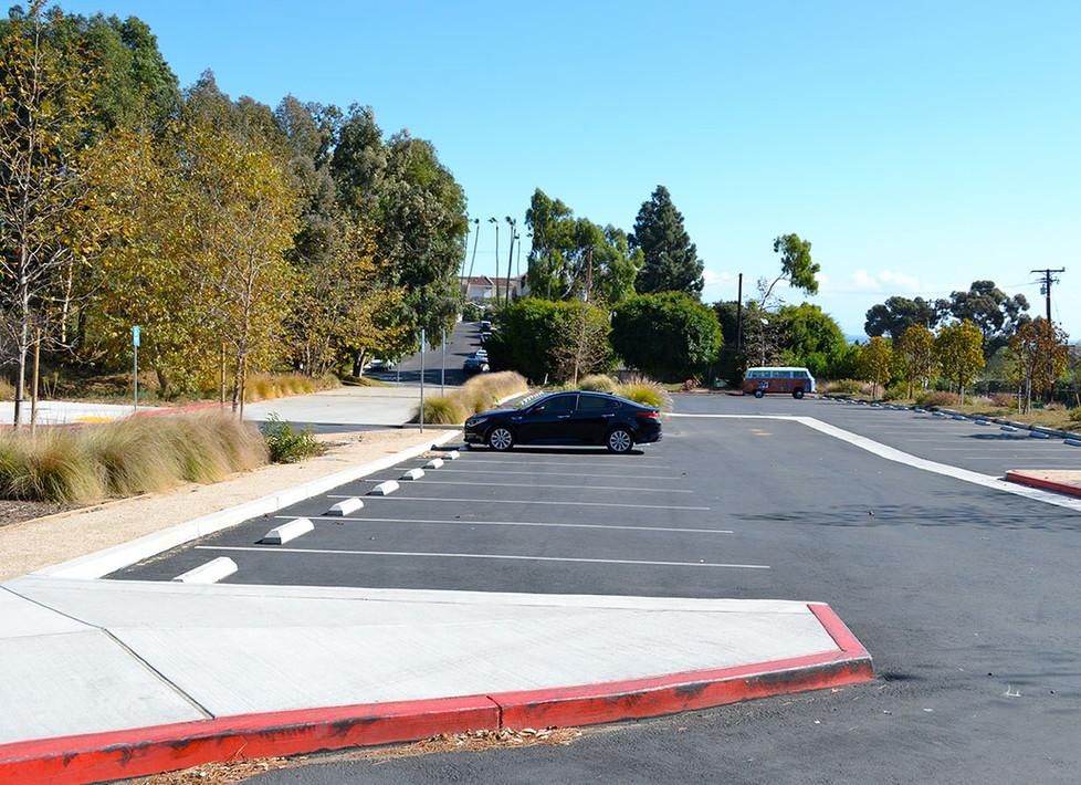 Webster Lower Parking Lot